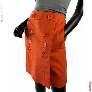 "BCBGMAXAZRIA Saffron ""Penny"" The A-line Mod Skirt"